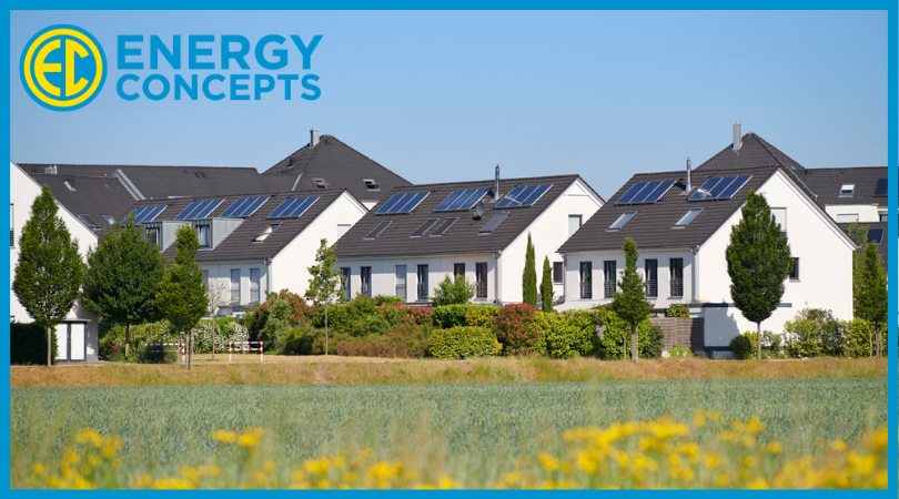 Multiple homes with solar installs