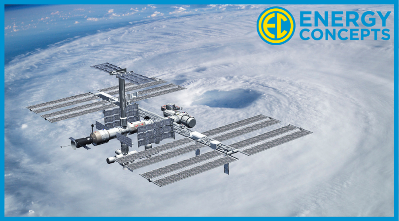 Solar Panels in space